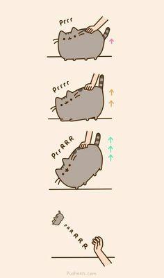 Pusheen- cat butt ascension