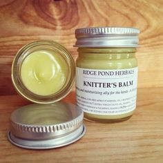 """126 Likes, 11 Comments - Cari Balbo (@ridgepondherbals) on Instagram: """"Knitter's Balm: back in stock and right on time for the #netaspa2018 Mercantile, opening today at 5…"""""""