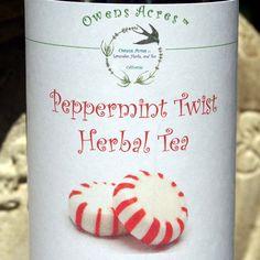 Lavender perfume herbal tea tea tisane tea in tin gift tea peppermint twist herbal tea tea tisane tea in tin by owensacres negle Gallery