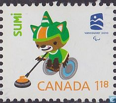 Timbres-poste - Canada - Jeux olympiques de Vancouver