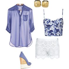 corset under sheer blouse