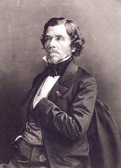 Eugène Delacroix .  Photographie de Félix Nadar 1858