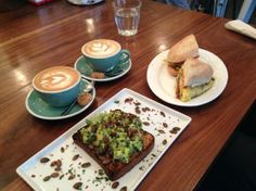 Little Collins: Capuccino, Flat White, The Smash, The Pick Me Up
