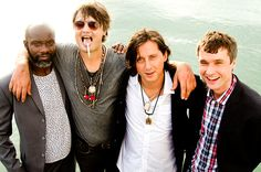 The Libertines in Thailand, June, 2015.