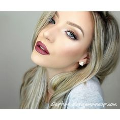 Makeup - I love that lipstick color especially