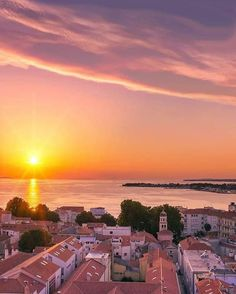 Zadar - Croatia Book Journal, Old Town, Celestial, Sunset, World, Spectacle, Instagram, Saint, Travel