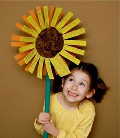 9 Sunflower Crafts for Kids to Create