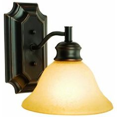 Design House 504415 Bristol 1-Light Wall Sconce, 9.25-Inch by 7.5-Inch, Oil Rubbed Bronze