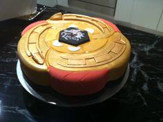 BEYBLADE CAKE!!