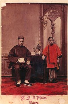 Ling and Mary Joe.  1888