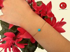 Single Blue Turquoise Bracelet, Dainty Turquoise Bracelet, One Stone Bracelet, Simple Gold Bracelet, Bridesmaid gift. Handmade Bracelets, Cuff Bracelets, Handmade Gifts, Dainty Necklace, Turquoise Bracelet, Jewlery, Trending Outfits, Unique Jewelry, Blue