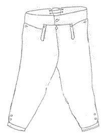 Boy's Late 18th Century Breeches Pattern  Period Impressions