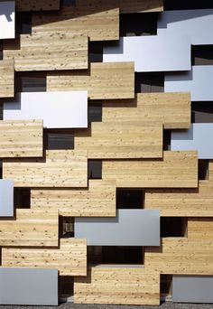Various building patterns architect Kengo Kuma #architecture