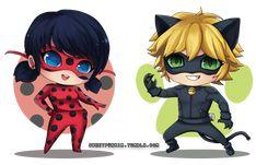 Resultado de imagen para ladybug y cat noir