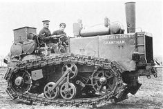 It Was Called The Little Caterpillar, And It Had Partly Wooden Tracks – It's The WW1 Hornsby Tractor (Watch)