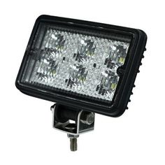 Led Utility Light, Offroad Waterproof 12 Volt Tractor Lights Overhead Clear Lens, Black