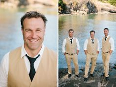 Groom + Groomsmen in tan Jcrew suits - Taryn Baxter – Vancouver, Victoria, Whistler Wedding Photographer Wedding Inspiration, Wedding Ideas, Island Weddings, Groom And Groomsmen, Whistler, Vancouver, J Crew, Dream Wedding, Victoria