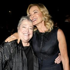 Kathy Bates and Jessica Lange