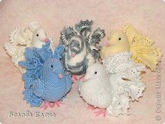 fantail pigeons #amigurumi #crochet