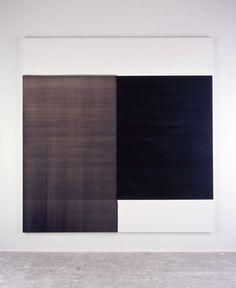 2003 Exposed Painting Scheveningen Black Oil on canvas   227.5 x 222.5 cm