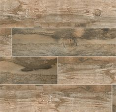 Salvage Brown 6 x 40 Wood Look Porcelain Tile