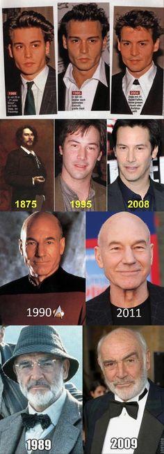 Immortal celebrities.