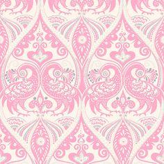 Pink peacock pattern
