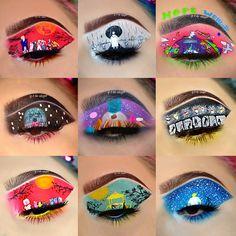 Bts Makeup, Cosplay Makeup, Makeup Goals, Makeup Inspo, Makeup Inspiration, Face Paint Makeup, Eye Makeup Art, Eyeshadow Makeup, Cute Makeup Looks