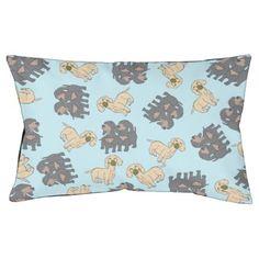 #Dachshund Dog Print Pet Bed - #cute #gifts #cool #giftideas #custom