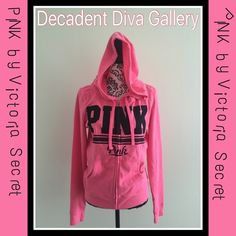 PINK by Victoria Secret Sweatshirt -NWT PINK by Victoria Secret Hooded Sweatshirt. Brand new with tags. Great for cool summer nights 🎀🎀 Size: Medium NEW With Tags! PINK Victoria's Secret Tops Sweatshirts & Hoodies