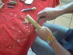 fazendo quena de bambu - YouTube