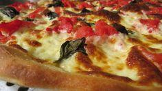 Pizza Margherita preparada en nuestro curso de pizza