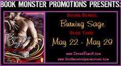 Book Review: BURNING SAGE by Deena Remiel (Blog Tour + giveaway) | I Smell Sheep