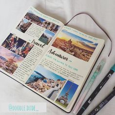 Planning a Trip? Here are 10 Bullet Journal Page Ideas To Help You Plan and Organize the Journey Two of my favorite things: Travel and Bullet Journals! I feel like planning a trip can be just as fun as the actual trip. Travel Journal Scrapbook, Travel Journal Pages, Bullet Journal Travel, Bullet Journal Writing, Bullet Journal Ideas Pages, Bullet Journals, Travel Journals, Bullet Journal Inspiration Creative, Creative Diary