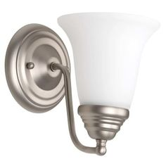"""Jeremiah Lighting 153051-WG Cathryn 1 Light Wall Sconce - 9"""" Tall 