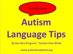 Vencer Autismo: Dicas de linguagem