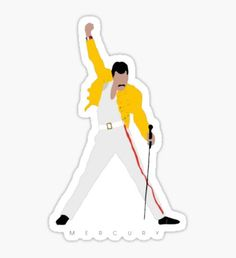 """The Queen Killer Vintage Band Featuring Freddie"" Stickers by Stickers Cool, Band Stickers, Bubble Stickers, Meme Stickers, Phone Stickers, Queen Band, Aesthetic Stickers, Art Graphique, Cool Wallpaper"