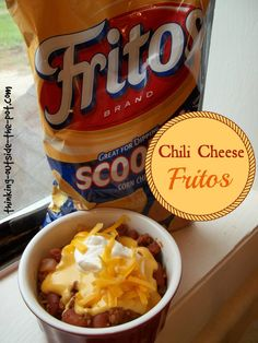 Food Advertising by    A memory that I have from middle school and high school was the $3 chili cheese fritos from the concession stands. They were seriously amazing! I play basketball, volleyball and was a cheerleader so there were plenty of opportunities to get[Read more]