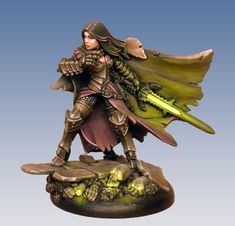 Alexia Ciannor, current owner of the Witchblade and a Merc for Warmachine. (mostly) One source lighting by Jen Haley