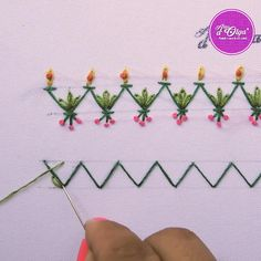 Basic Hand Embroidery Stitches, Hand Embroidery Patterns Free, Hand Embroidery Videos, Embroidery Stitches Tutorial, Embroidery Flowers Pattern, Creative Embroidery, Paper Embroidery, Learn Embroidery, Embroidery Techniques