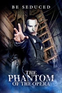 Photo: First Look at Ben Forster as 'The Phantom' in THE PHANTOM OF THE OPERA