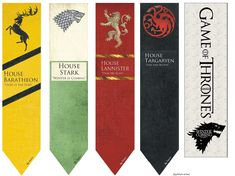 Printable bookmarks Game of Thrones Bookmarks For Books, Diy Bookmarks, Printable Bookmarks, Gme Of Thrones, Surprise Your Girlfriend, Harry Potter Bookmark, Rune Tattoo, Book Markers, Harry Potter Birthday