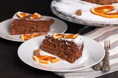 Pan d'arancio cacao e noci