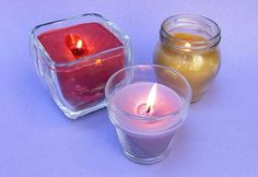How to Melt Old Candles to Make New Candles
