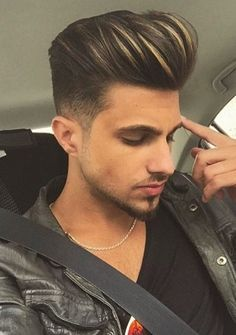 Men's Coolest Hair Highlights | Men's Hairstyles and Haircuts for 2017
