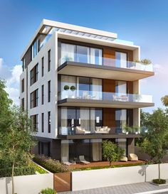 Interior Painters Near Me Architecture Building Design, Home Building Design, Modern Architecture House, Facade Design, Residential Architecture, Exterior Design, 3 Storey House Design, Duplex House Design, Modern House Design