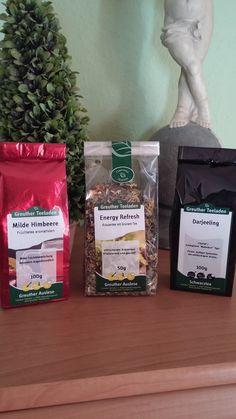 Hier durfte ich ein leckeren Tee testen ,von der Firma  Greuther Teeladen  http://www.greuther-teeladen.de/ Den ausführlichen Bericht wieder auf meinem Blog