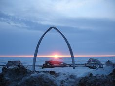Barrow - AK  The northern-most point of the US