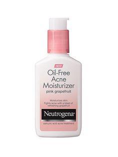 Best of Beauty 2015 Winner -- Top Steals: Neutrogena Oil-Free Acne Moisturizer Pink Grapefruit | allure.com
