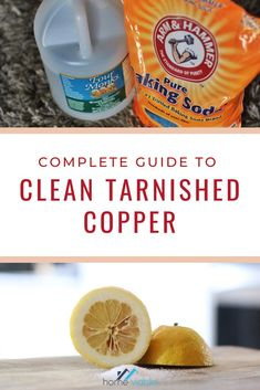 Metals like copper can be tarnished over time due to the surrounding air. Learn how to clean your tarnished copper pots with materials that can be usually found in your home. #homeviable #copper #copperpots #cleaning Kitchen Cleaning, House Cleaning Tips, Cleaning Hacks, Copper Vessel, Copper Pots, Tamarind Fruit, Lemon Juice Uses, All Natural Cleaning Products, How To Clean Copper